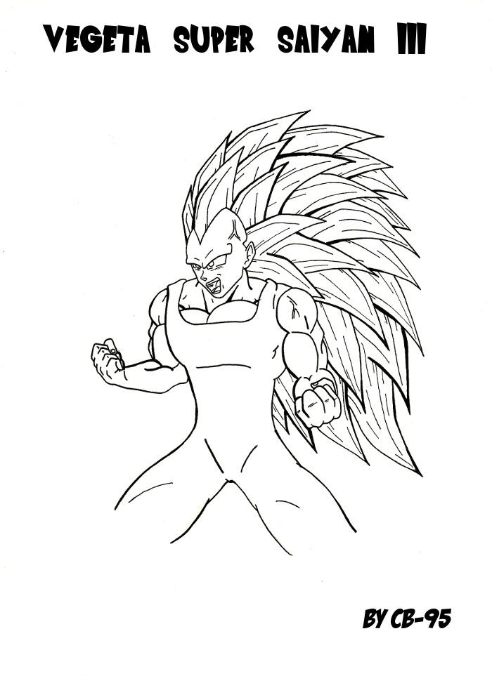 Coloriage Famille Vegeta.Supafan Union Gallery Style 1534